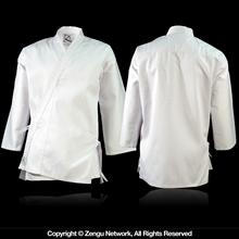 White Middle Weight Karate Jacket